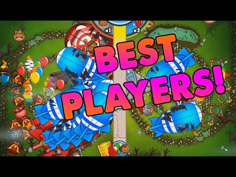 HIGH TIER, HIGH RANK, BEST PLAYERS?! Bloons TD Battles