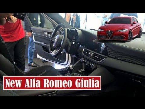 New Alfa Romeo Giulia, best look the interior