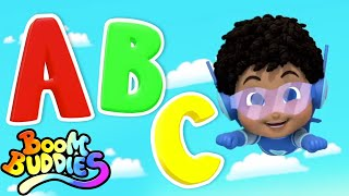 Alphabet Adventure | ABC Song | Alphabet Songs For Kids | Nursery Rhymes with Boom Buddies