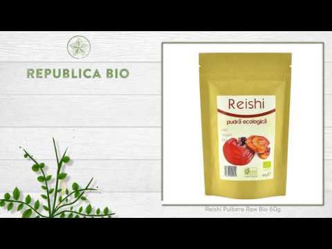 Reishi Pulbere Raw Bio 60g