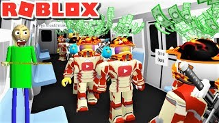 UN EJÉRCITO DE PGHLFILMS TOMA SOBRE EL TREN DE HORROR!! | The Weird Side of Roblox: The Horror Train