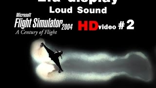 [HD] Italian Air Force Eurofighter Typhoon Solo Display FS2004 : INCREDIBLE SOUND !