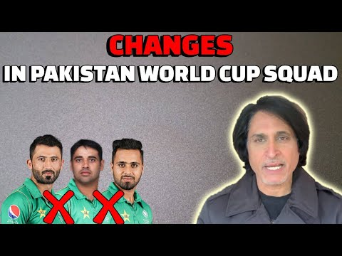 Changes in Pakistan World Cup Squad | Ramiz Speaks