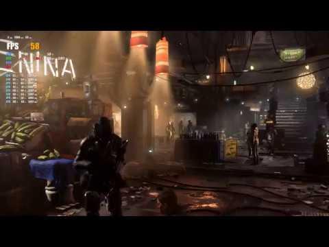 Deus Ex: Mankind Divided GTX1070 Бенчмарк