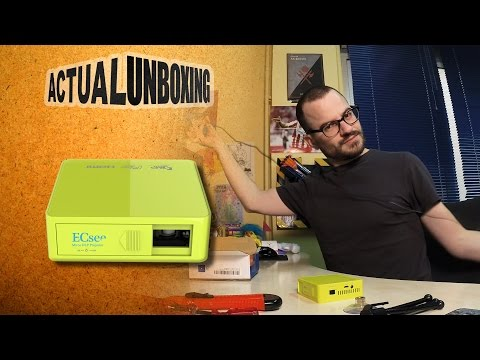ECsee ES130 Mini DLP Projector - Actual Unboxing #02
