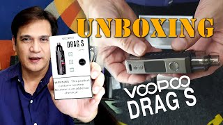 Voopoo Drag S Unboxing Video by Darrell James