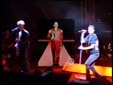Depeche Mode - Walking In My Shoes (The Singles Tour 86-98 - Live in Tartu, Estonia, 02.09.1998)