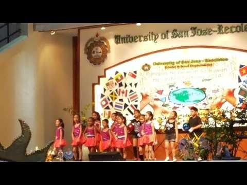 my dance in my school in USJR