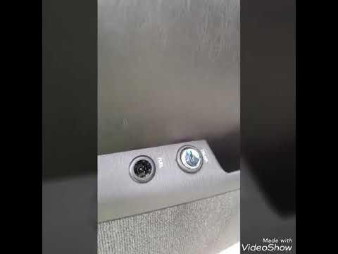Lincoln fuel door switch fix.