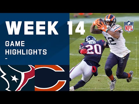 Texans vs. Bears Week 14 Highlights | NFL 2020