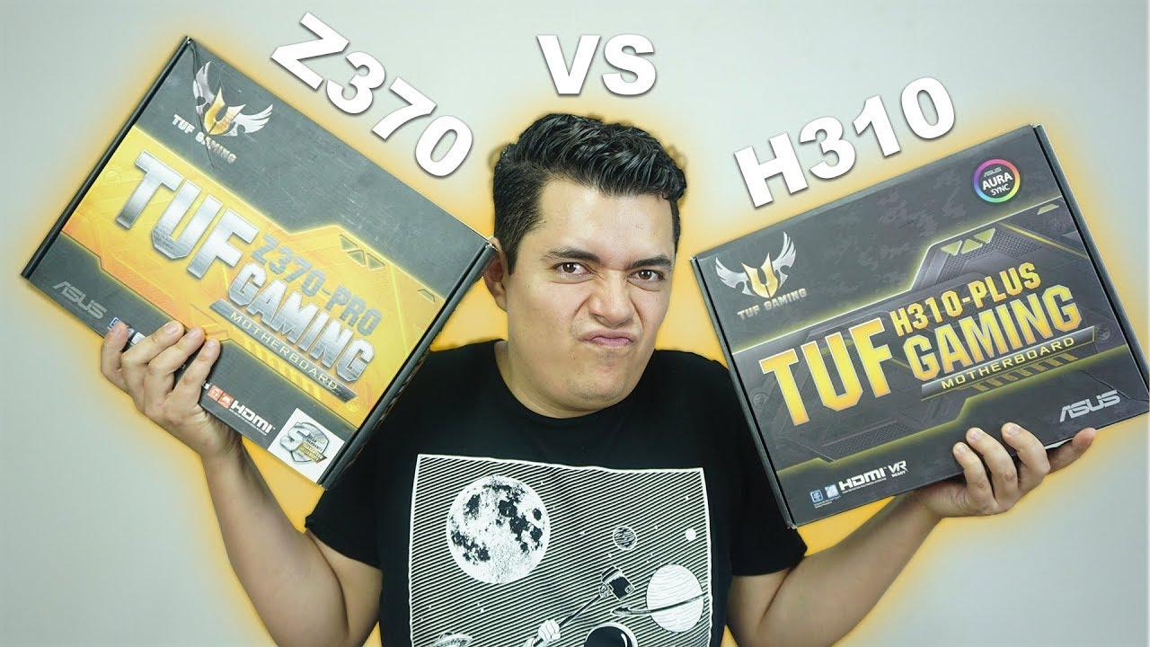 Tarjetas madre Z370 vs H310 en juegos ¿Vale la pena pagar más? – Proto Hw & Tec
