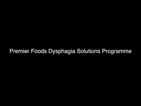 Premier Foods Dysphagia Solutions Programme