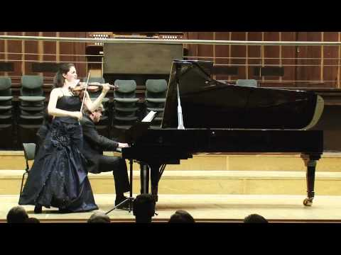 Brahms violin sonata op 100 A Major, Sophia Jaffé and Björn Lehmann, 14.11.2012