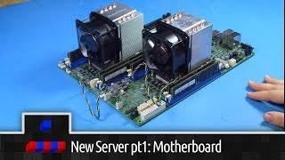 New Server Build: Pt1 Motherboard Setup and Testing