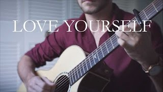 Justin Bieber Love Yourself Ronan Giraud Fingerstyle Guitar
