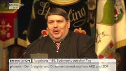 68. Sudetendeutscher Tag: Reden von Bernd Posselt und Horst Seehofer am 04.06.17