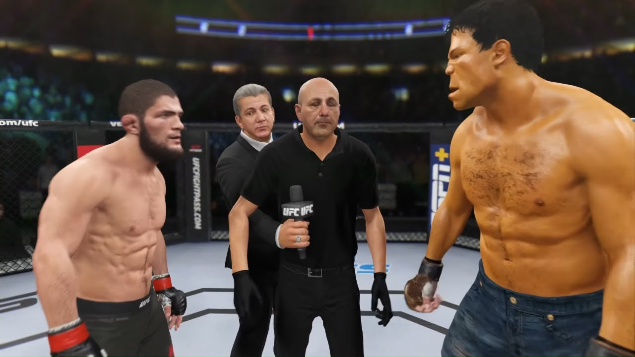 UFC 4 - Khabib vs. Gold Hulk - Champions Fight