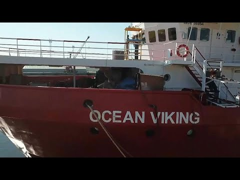 France 24:Ocean Viking: out of the 103 children onboard, only 11 are accompanied