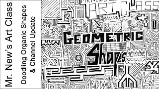 Making Up Geometric Shapes - Doodling Using Only Straight Lines