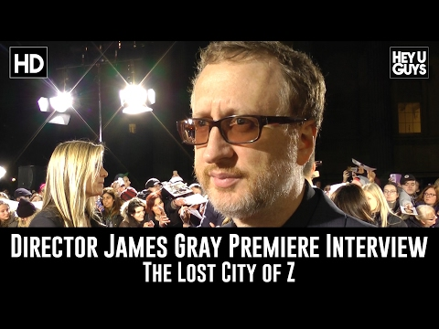 Director James Gray Premiere Interview - The Lost City Of Z