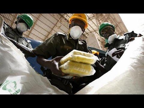 Benin announces seizure of 54kg of cocaine from Brazil