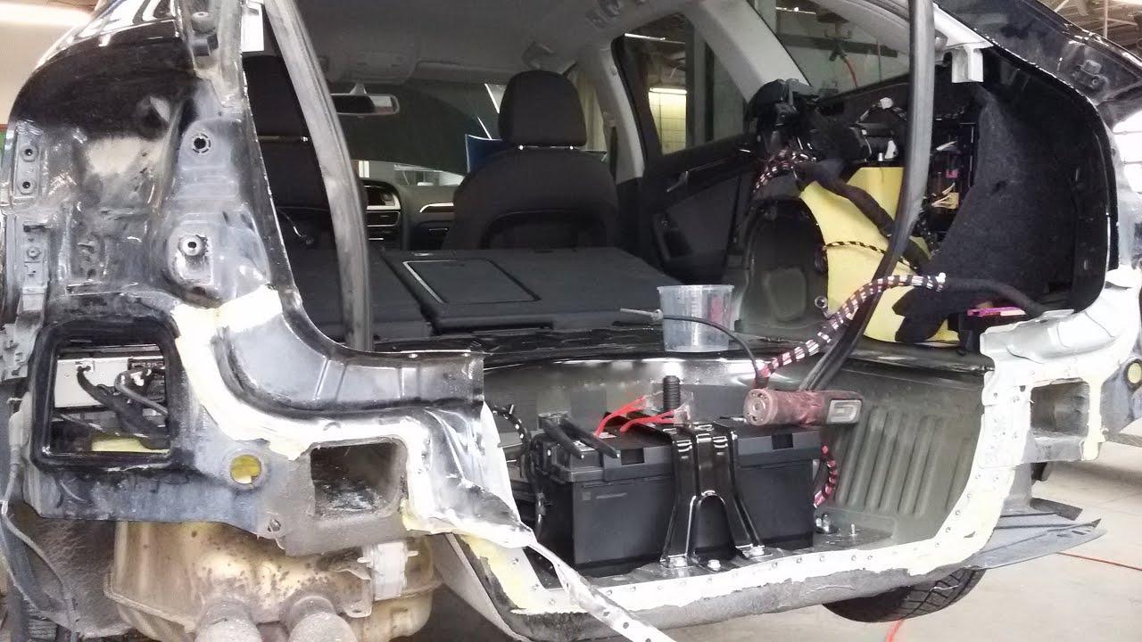 Кузовной ремонт Рено Меган.часть 1