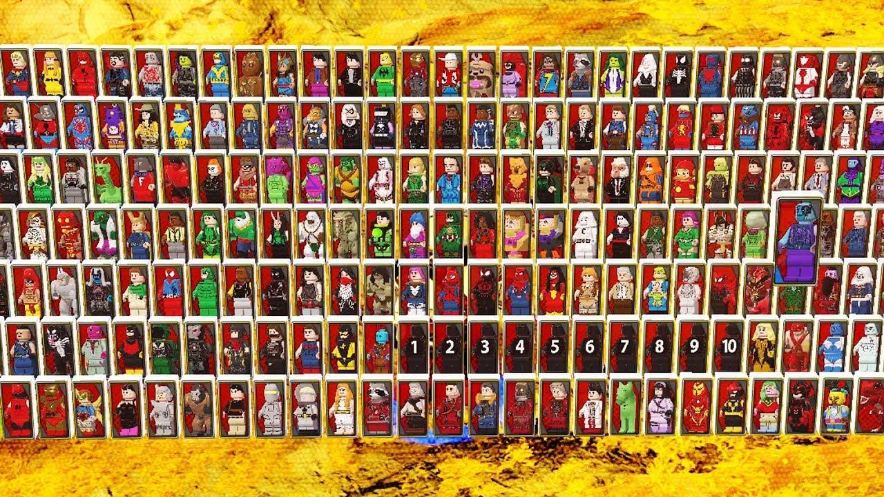 Lego Marvel Superheroes 2 All Characters Unlocked Youtube