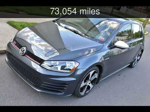 2015 Volkswagen Golf GTI S Used Cars - Linden,New Jersey - 2019-05-16
