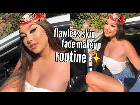 How To: Everyday FLAWLESS FULL FACE In Depth Makeup Tutorial & Favorites