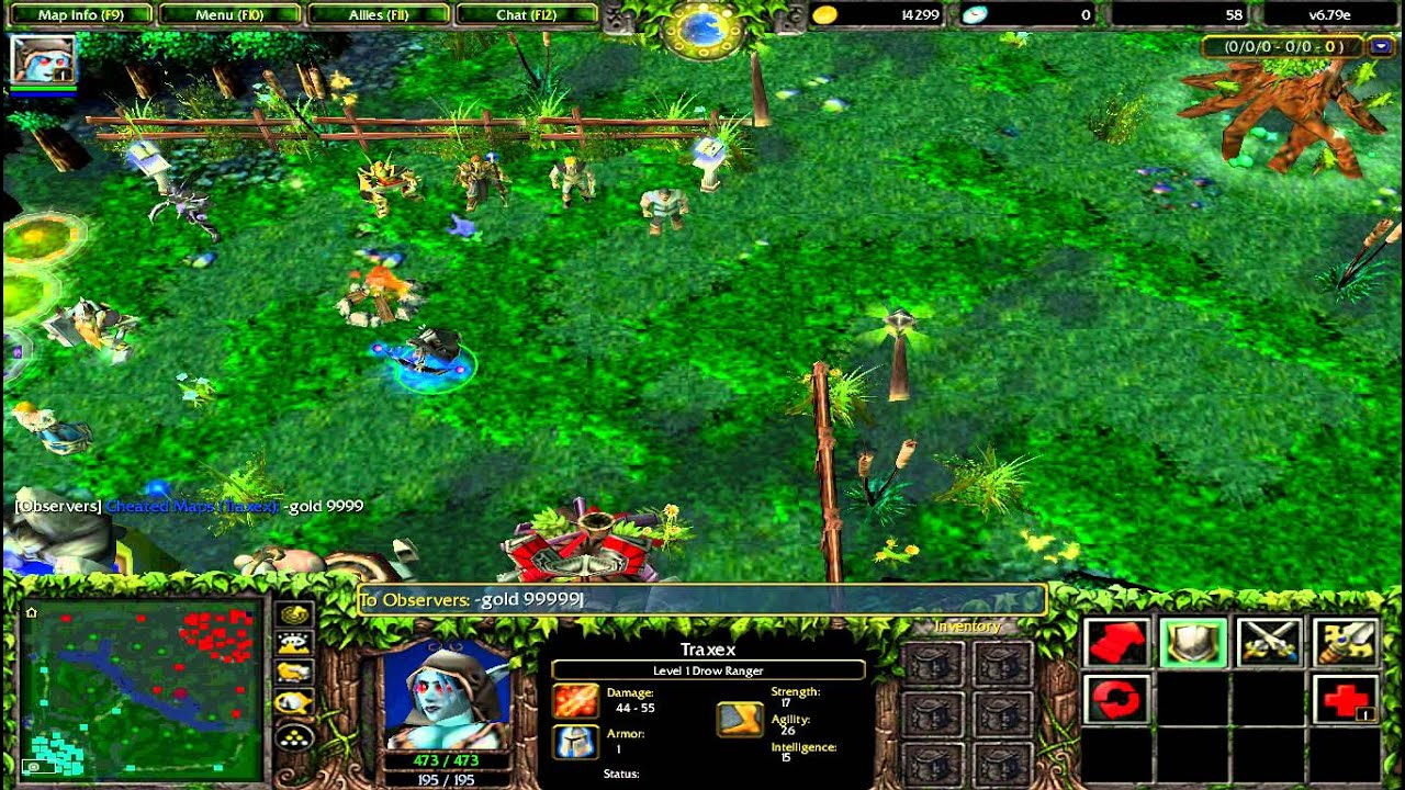 Dota 679e cheated map download demonstration youtube gumiabroncs Choice Image