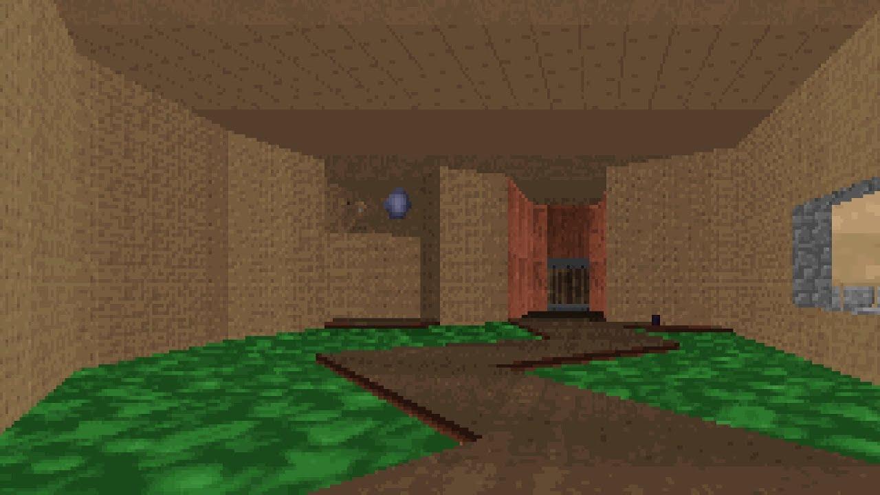 Hidden DOOM Map in Ken Silverman's Build Engine
