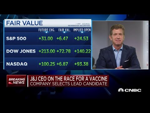 Coronavirus: Johnson & Johnson CEO On How Close Company Is To A Vaccine