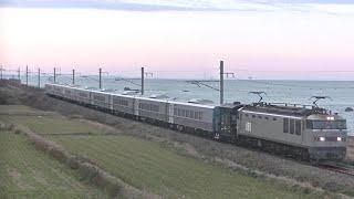 EF510 509+ヨ8629+キハ261系1000番台8両甲種輸送(8561レ)@2019.12.1