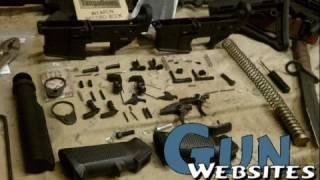 Plum Crazy Plastic AR15 Parts Swap