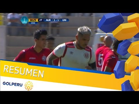 Resumen - Juan Aurich vs Universitario (1-1)