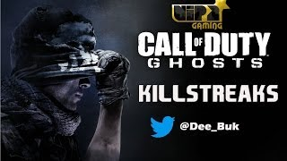 CALL OF DUTY GHOSTS | KILLSTREAKS