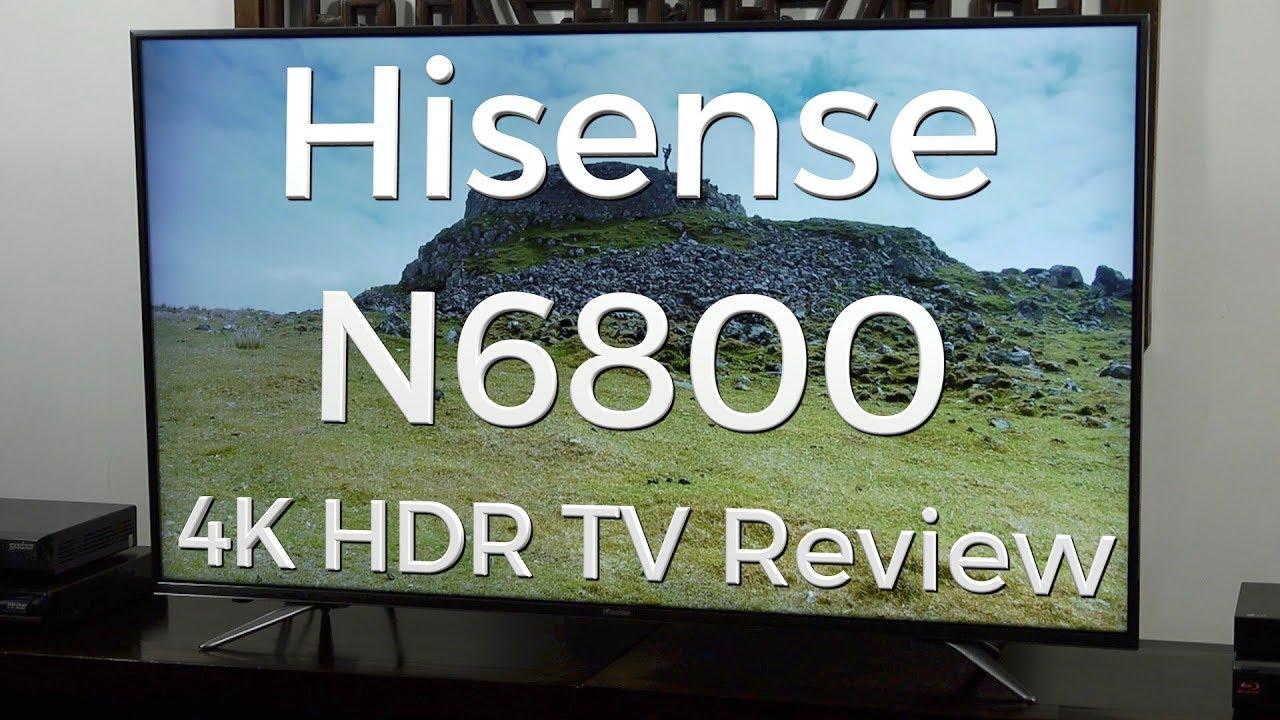 Hisense H55N6800 4K Ultra HD LED LCD HDR TV Review   AVForums