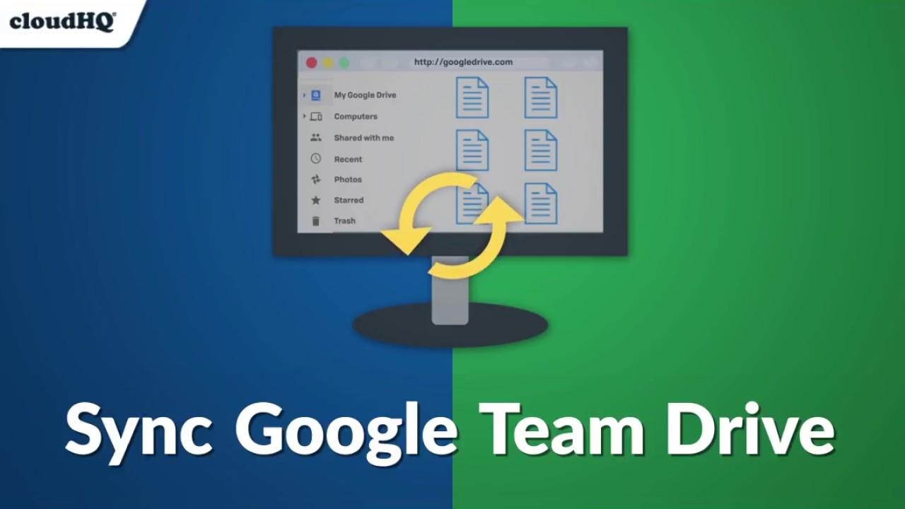 New! Sync Google Team Drive With   (Dropbox, OneDrive, etc )