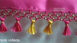 Saree Kuchu/tassel using small plain beads-New design