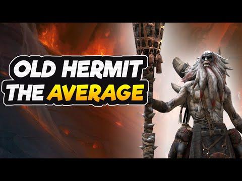 Old Hermit Jorrg - Champion Review | Gear & Masteries | RAID SHADOW LEGENDS