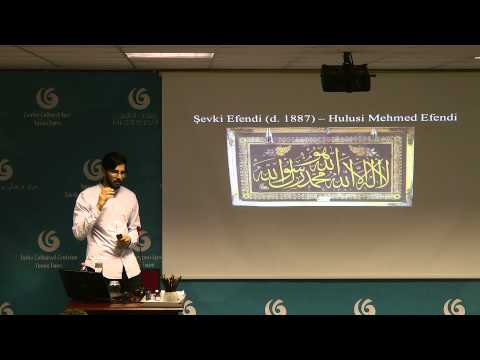 Talk by Bilal Badat 'I am the pen in your hands'  14th May 2015