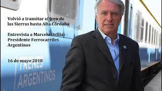 Se refuncionalizó el tren de las Sierras y ahora llega hasta la estación de Alta Córdoba