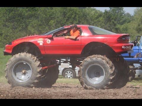 Camaro Monster Truck >> Monster 4x4 Mega Camaro {FOR SALE} Barnyard Boggers Scott Rothfuss - YouTube