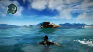 Just random boats crashing into each other (Just Cause 2)