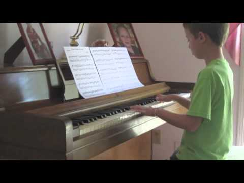 Harrison Piano (Age 9) - A River Runs Through You