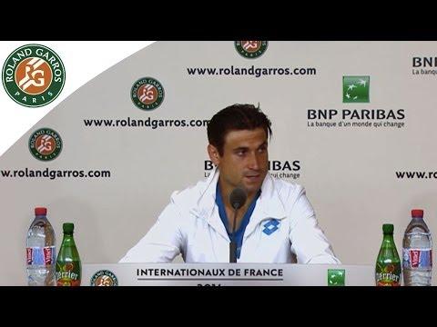 Conférence de presse David Ferrer 2014 Roland Garros 1T