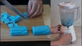 Experiment - Turning Bar Soaps into Body Shampoo