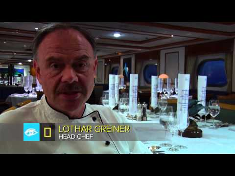 Meet National Geographic Orion's Chef