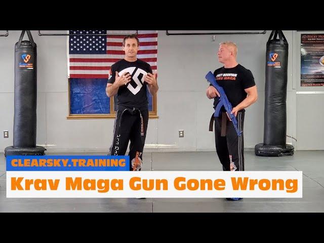 Krav Maga Gun Gone Wrong | What To Do If...