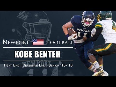 Kobe Benter Recruiting Video  - Newport Harbor High School